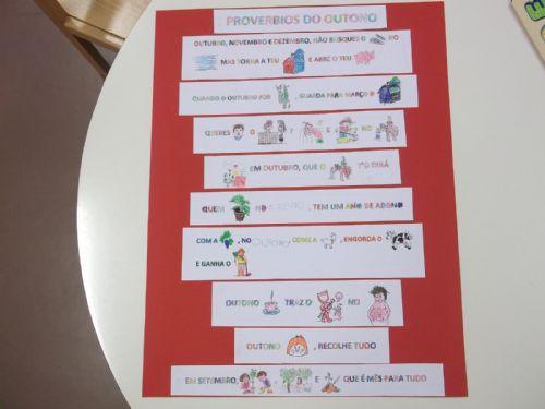 ideias para o outono jardim de infancia:Durante os meses de outubro e novembro, os alunos da Educação Pré